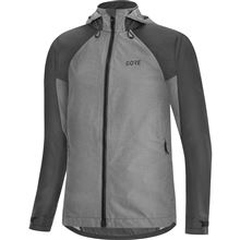 GORE C5 Women GTX Trail Hooded Jacket-terra grey-36