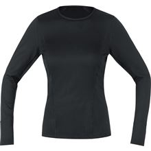 GOREM Women Base Layer Thermo Long Sleeve Shirt-black-36