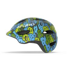 GIRO Scamp Blue/Green Creature Camo S