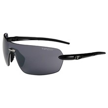 Tifosi Vogel-Gloss Black/single lens/Smoke w/GG