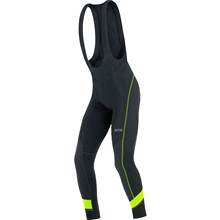 GORE C5 Thermo Bib Tights+-black/neon yellow-L