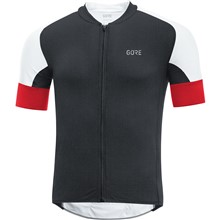GORE C7 CC Jersey-black/red-XXL